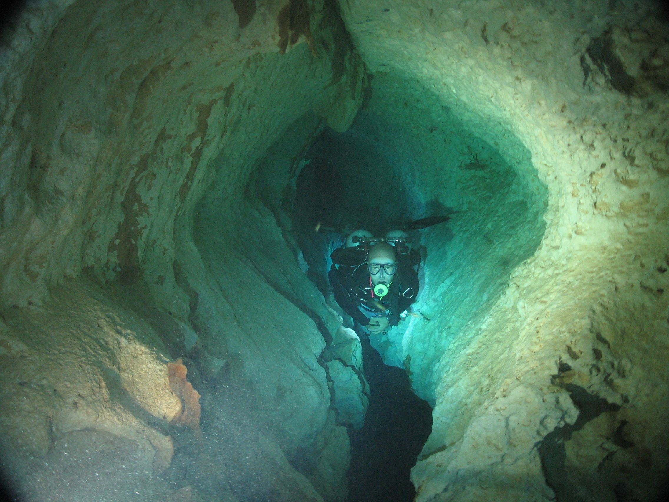 Cave Diving Training In Mexico's UnderGround River Systems