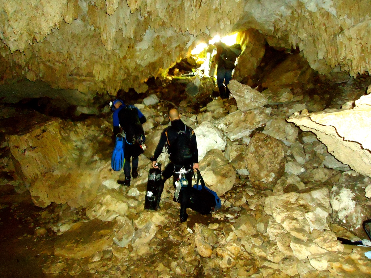 Cave Diving: Sump Exploration Completed